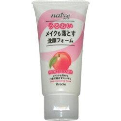 【クラシエ】 ナイーブ メイクも落す洗顔フォーム 桃の葉 45g ×3個セット ☆日用品 ※お取り寄せ商品