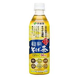 【伊藤園】 さらさらおいしいそば茶 500ml×24本セット ※お取り寄せ商品