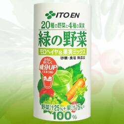 【伊藤園】 20種の野菜と4種の果実 緑の野菜 190g×30本セット ※お取り寄せ商品