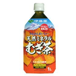 【伊藤園】 天然ミネラルむぎ茶 1L×12本セット ※お取り寄せ商品