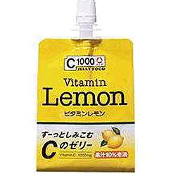 【ハウスウェルネス】 C1000ビタミンレモンゼリー 180g×24個セット ☆食料品 ※お取り寄せ商品