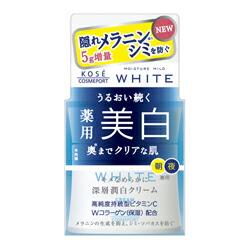 【コーセーコスメポート】 モイスチュアマイルド ホワイト クリーム 55g 【お取り寄せ商品】