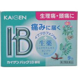 【カイゲン】 カイゲンパックIB顆粒 9包 ☆☆※お取り寄せ商品【第(2)類医薬品】