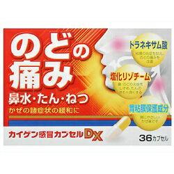 【カイゲン】 カイゲン感冒カプセルDX 36カプセル 【第(2)類医薬品】 ※お取り寄せになる場合もございます