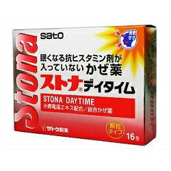 【佐藤製薬】 ストナデイタイム 16包 【第(2)類医薬品】 ※お取り寄せになる場合もございます