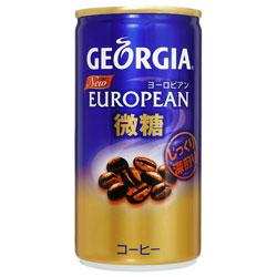 【コカ・コーラ】 ジョージア ヨーロピアン 缶190g×30個セット ※お取り寄せ商品