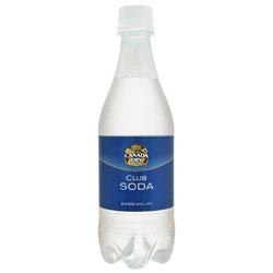 【コカ・コーラ】 カナダドライ クラブソーダ 500ml×24個セット ※お取り寄せ商品