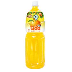 【コカ・コーラ】 Qoo とってもオレンジ 1.5L×8個セット ※お取り寄せ商品
