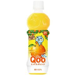【コカ・コーラ】 Qoo とってもオレンジ 470ml×24個セット ※お取り寄せ商品