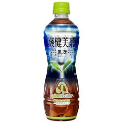 【コカ・コーラ】 爽健美茶 黒冴(フィットボトル) 500ml×24個セット ※お取り寄せ商品