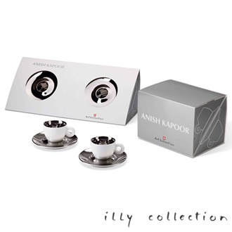 illy collection 2011 Anish Kapoor[アニッシュ・カプーア] イリー コレクション