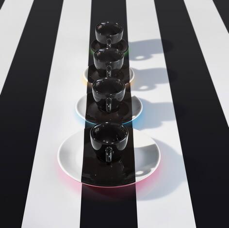 Daniel Buren / illy collection[イリーコレクション]