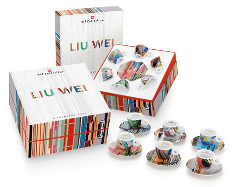 LIU WEI [リウ・ウェイ] エスプレッソカップセット / illy collection[イリーコレクション]