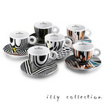 2010 illy collection Tobias Rehberger カプチーノカップセット