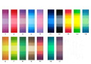☆ patchwork more new colors 5 color gradation ☆ border all 17 colors!