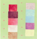 ☆ patchwork-Hawaiian ☆ dye fabric Kathy Mom all 50 colors NO.35-NO.46