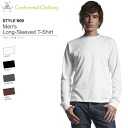 4 Color MEN's long-sleeved T shirt S-XL size continental 05P10Nov13