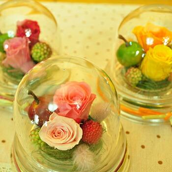 【ミニドーム】プリザーブドフラワーのお店ムニュムニュ【Flower Munyu Munyu】