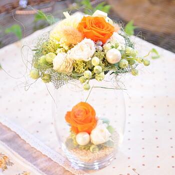 【プティ・バルーン・S】プリザーブドフラワーのお店ムニュムニュ【Flower Munyu Munyu】