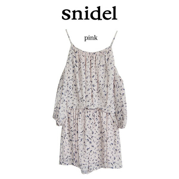 Snidel,スナイデル,プリントアメスリロンパース,swfo162024