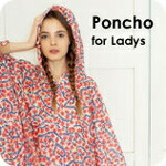 キウ (kiu) fashion lane poncho