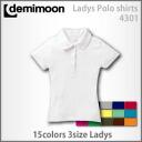 デミムーンレディースポロ t-shirt
