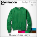 Demi moon regular trainer fleece pile (Lady's)