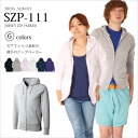 The thin parka of the T-cloth T-shirt material! A zip parka is thin