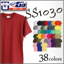 (Touch and go)6.5oz heavyweight short sleeve tee (JrS-2XL)