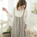 A line long one piece sleeveless linen cotton