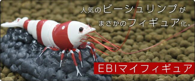 観賞魚界のアイドル『レッドビーシュリンプ』がフィギュアになって登場!『EBIマイフィギュア』