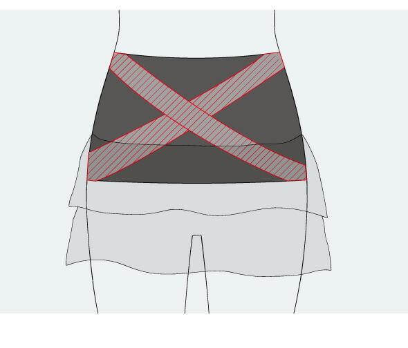 シークレットスカート チュニ