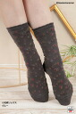 Small floral design socks (by Nippon Shoe lower )♪ 1,050 yen purchase, choice ♪ -Z fs3gm)