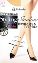 It is ♪ shear tights tights stockings wedding ceremony party stocking tights ladies ♪ -Z by arrival at shadow knitting (Shadow)( pressure making you look thin in a shadow, tiptoe through, the electrostatic prevention) ♪ 1,050 yen purchase, choice