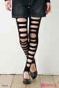 Front damagetrenka (high cut type) ♪ Yen buying and selection in ♪ pattern tights pattern stockings ladies tights stocking!-z
