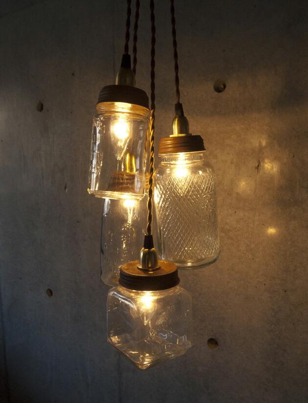 ペンダントライト アンティーク ガラス 照明 北欧