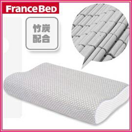 Restile フランスベッド低反発枕 竹炭配合枕 日本人に合う枕