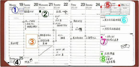 クオバディス 2011 手帳 ダイアリー エグゼクティブ ノート クラブ