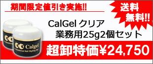 カルジェルクリア25g2個セット