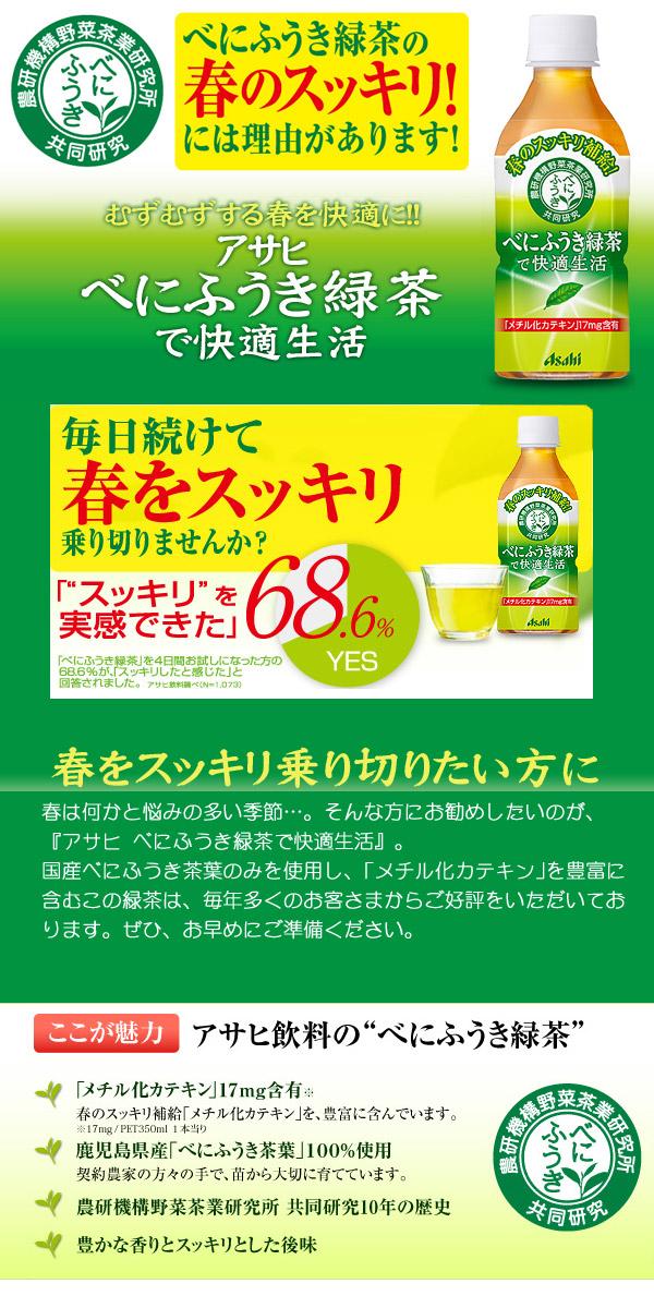スッキリしたい春にべにふうき緑茶