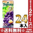 24 100% of 250 ml of 100% of キリントロピカーナ fruit X fruit grapes pack Motoiri [fruit juice]