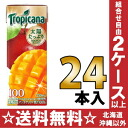 24 100 250 ml of 100% of キリントロピカーナ fruit X fruit mango blends pack Motoiri [mango juice fruit juice %]
