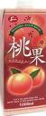 6 juicy 桃果 1,000 ml pack Motoiri []
