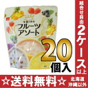 フルーツア sort 21.0g(7.0g make アスザックフーズ milk x 3 servings ) 20 pieces [freeze dessert beverage]
