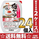 Spend table mark steaming rice Niigata product; Hikari plum がゆ 255 g 24 case [microwave oven rice rice gruel rice porridge retort rice]
