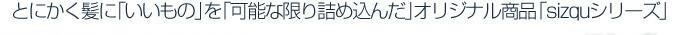 """�Ƃɂ������ɂ������̂��""""\�Ȍ���l�ߍ���sizqu�V���[�Y"""