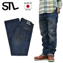 STL Esstee L VTG DENIM03 vintage denim jeans red ear cell bitch Okayama production