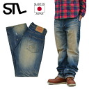 STL Jeans Esstee L jeans vintage crash denim underwear red ear cell bitch is from Okayama