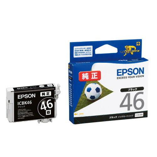 【新品】(エプソン) EPSON ICBK46 インクカートリッジ ブラック EPSON