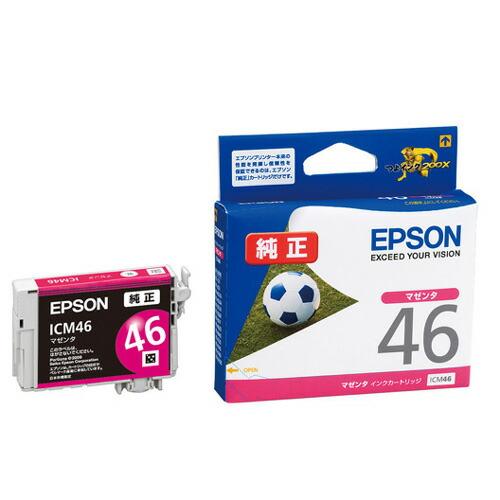 【新品】(エプソン) EPSON ICM46 インクカートリッジ マゼンダ EPSON
